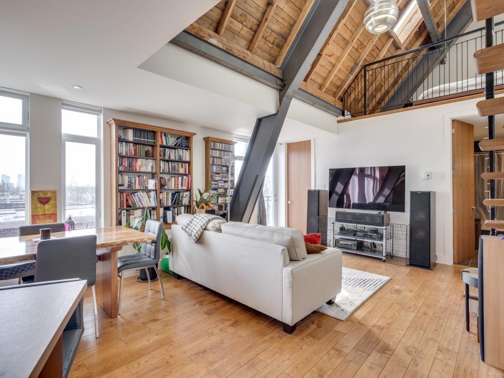 Espace de vie de style Loft