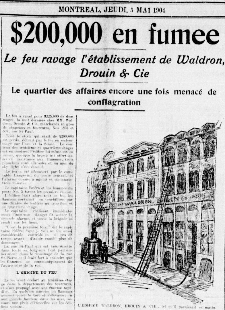 La Patrie du 5 mai 1904