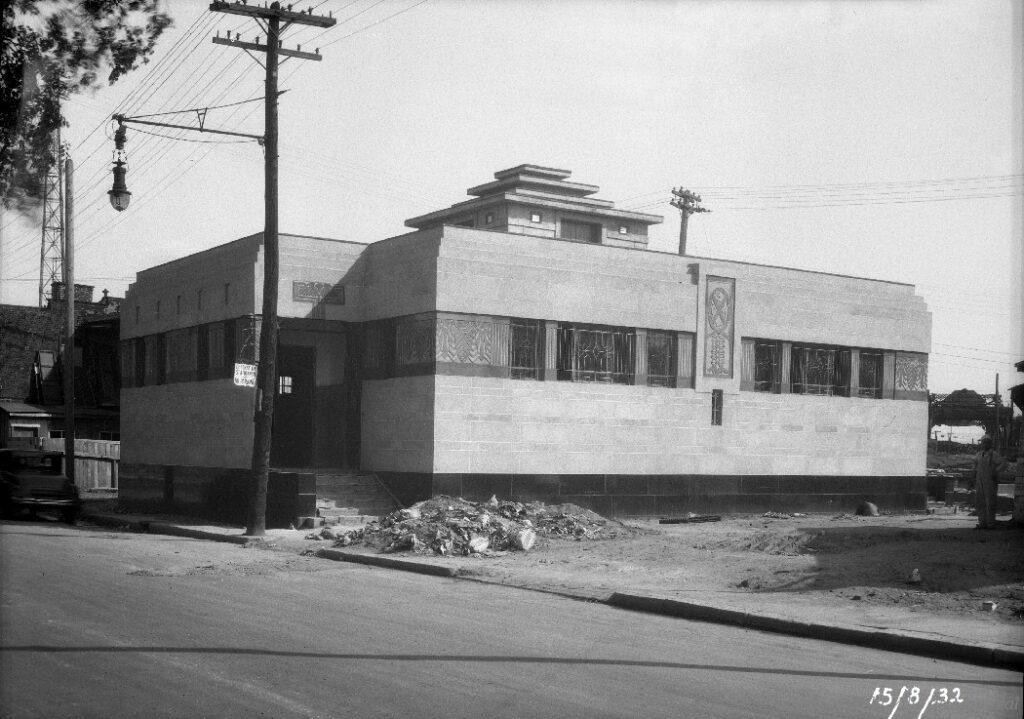 Image d'archives des Vespasiennes du Square Gallery, 1932