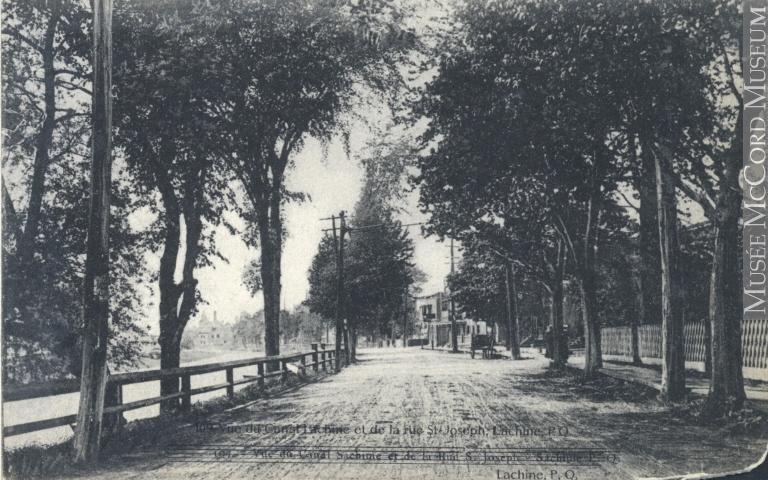 Boulevard Saint-Joseph de Lachine vers 1910