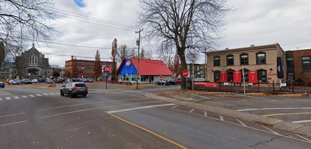 Vue actuelle du boulevard Saint-Joseph